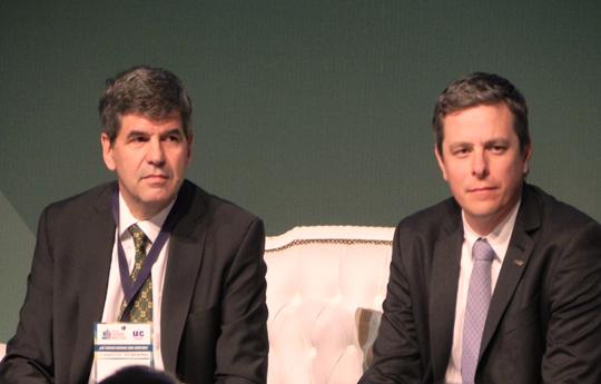 Francisco Tamarit y Santiago Sacerdote
