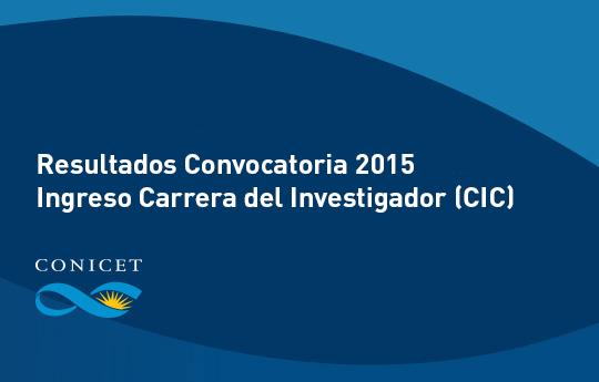 Ingreso-CIC