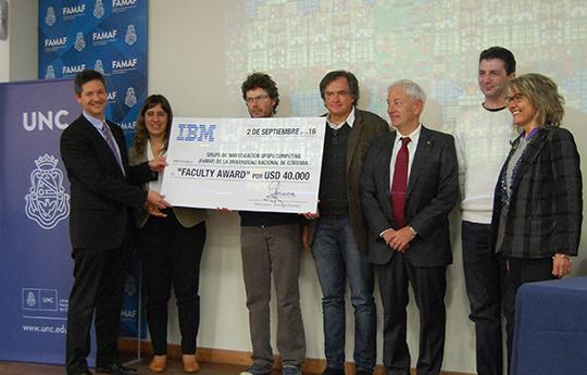 IBM faculty award