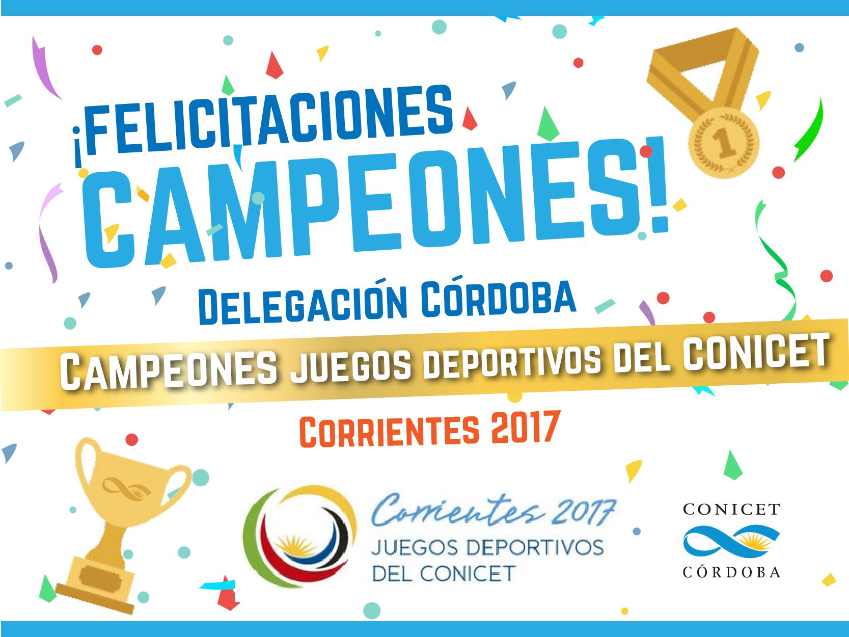 Campeones corrientes 2017-01